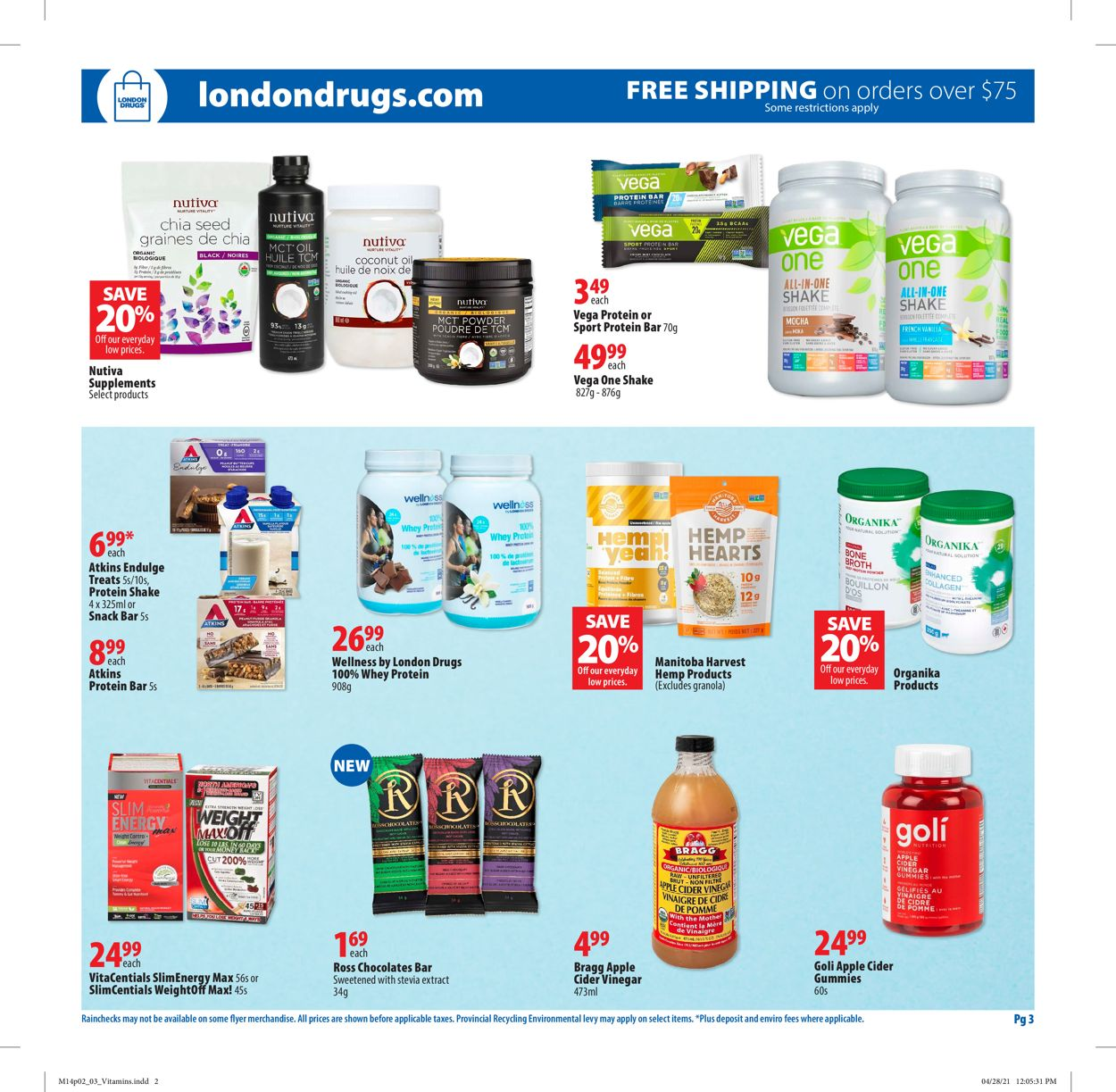 London Drugs Flyer - 05/14-05/26/2021 (Page 3)