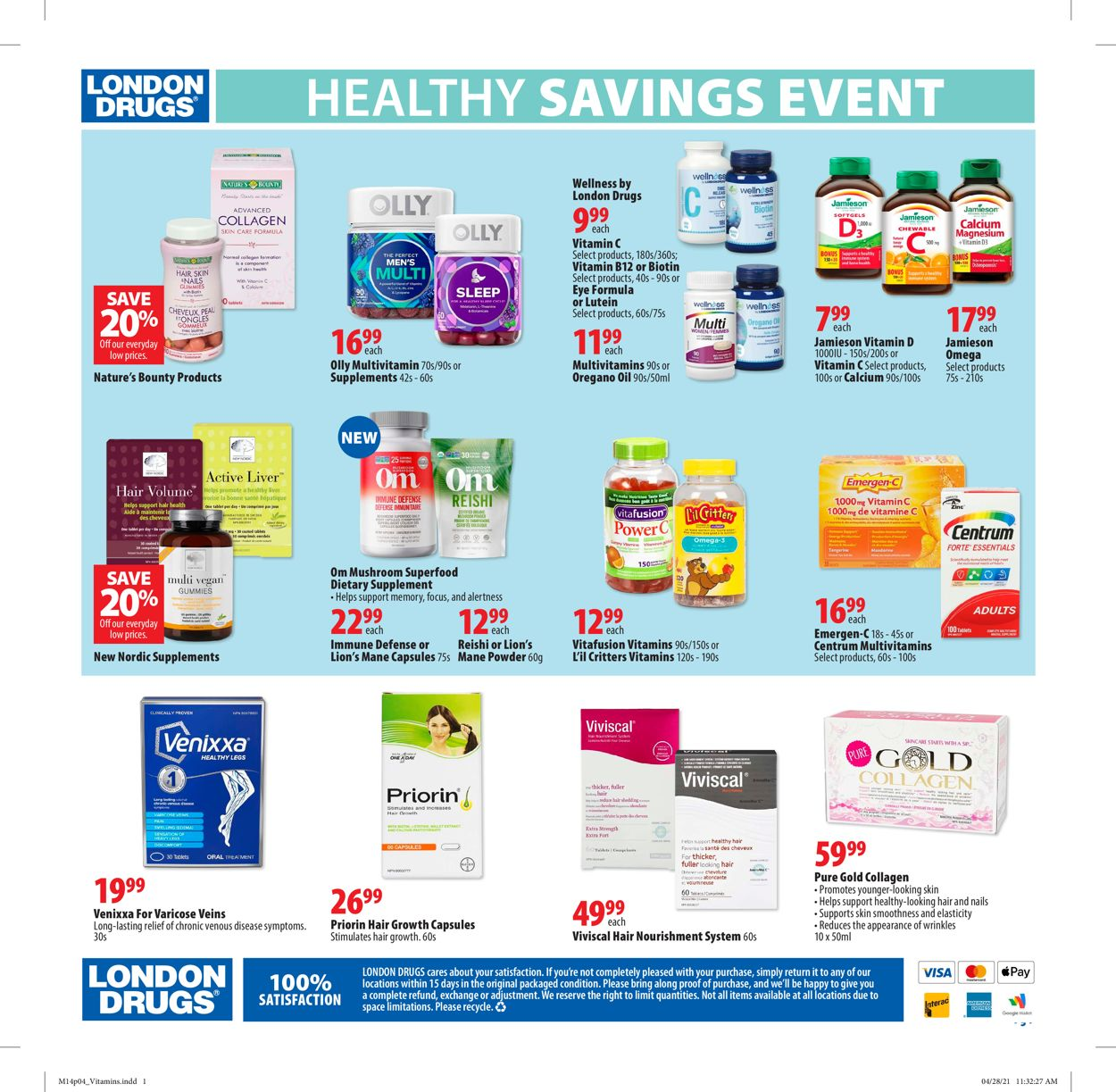 London Drugs Flyer - 05/14-05/26/2021 (Page 4)