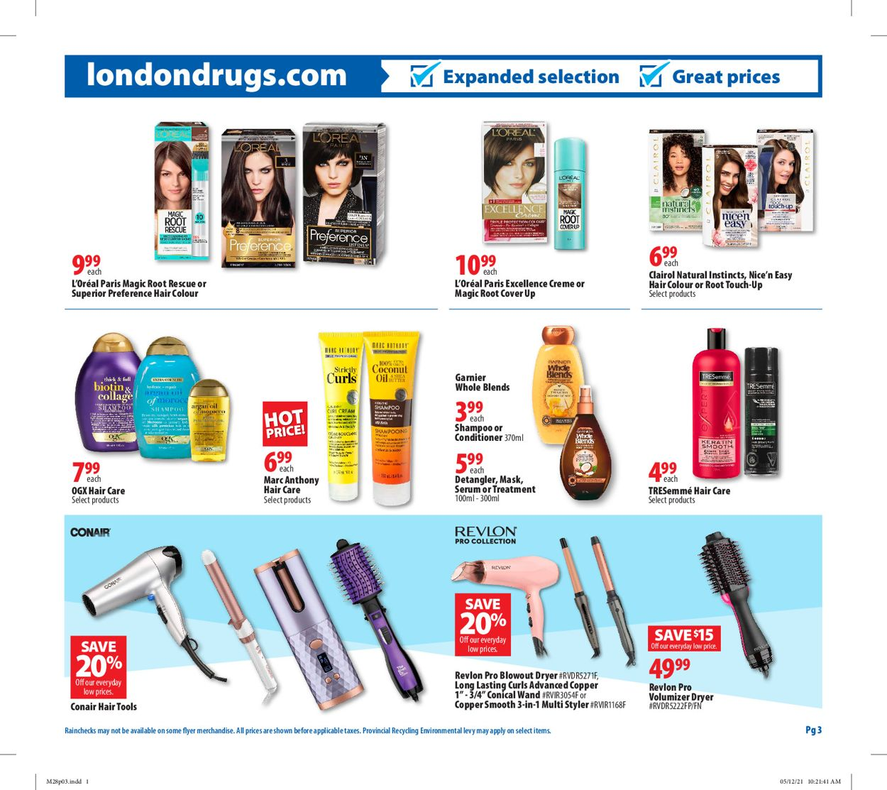 London Drugs Flyer - 05/28-06/02/2021 (Page 3)