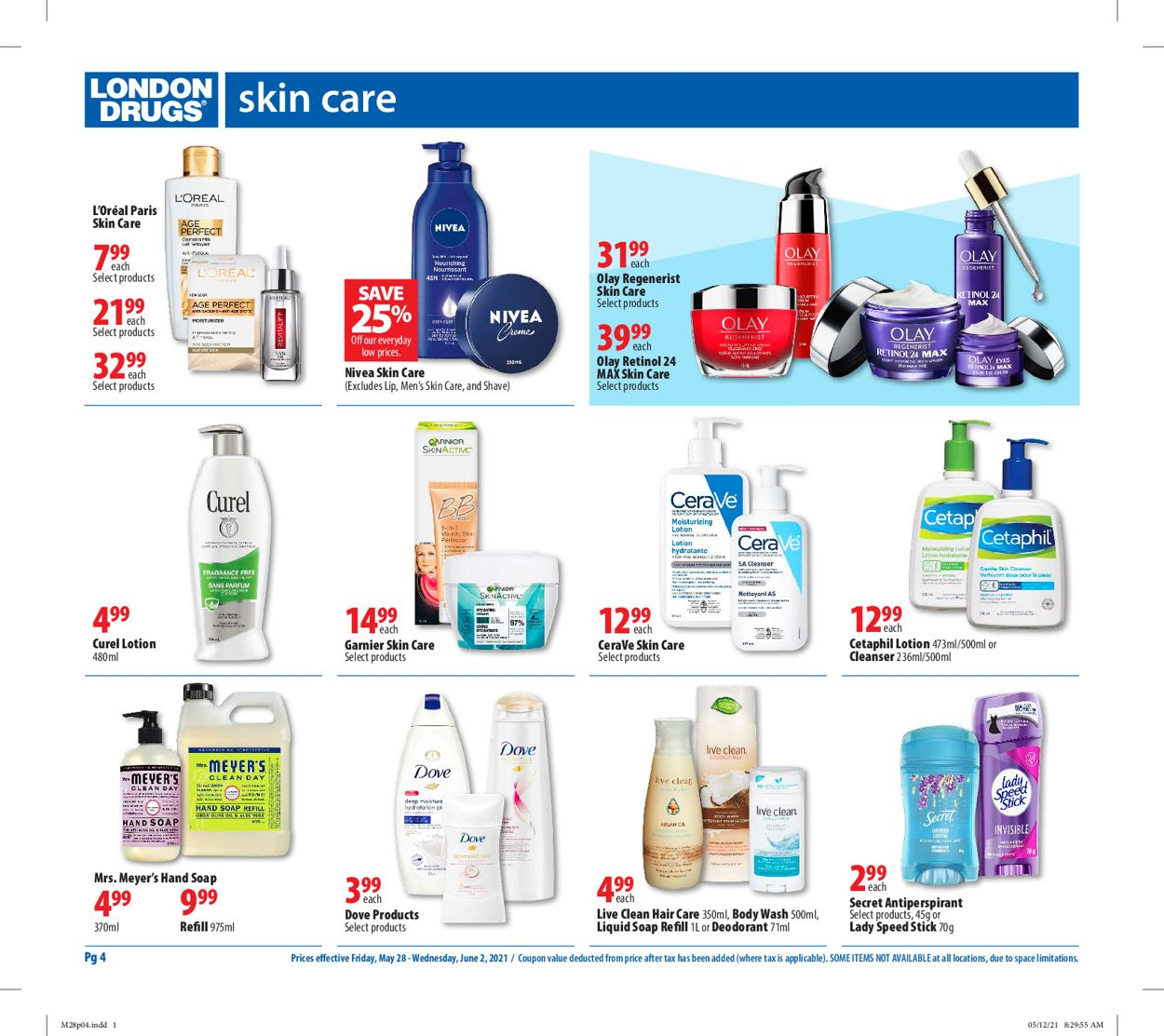 London Drugs Flyer - 05/28-06/02/2021 (Page 4)