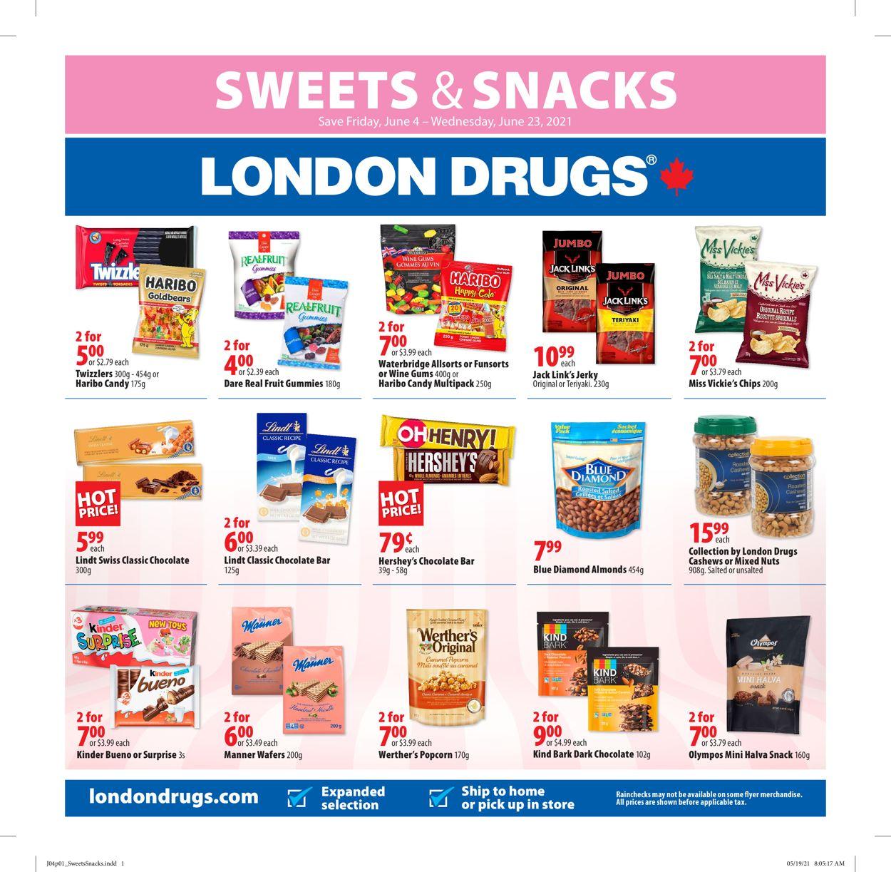 London Drugs Flyer - 06/04-06/23/2021