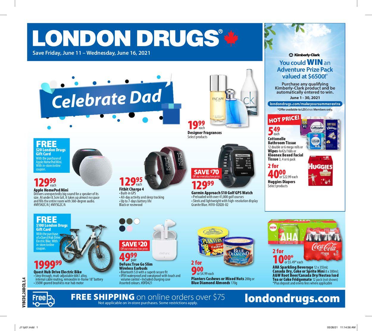 London Drugs Flyer - 06/11-06/16/2021