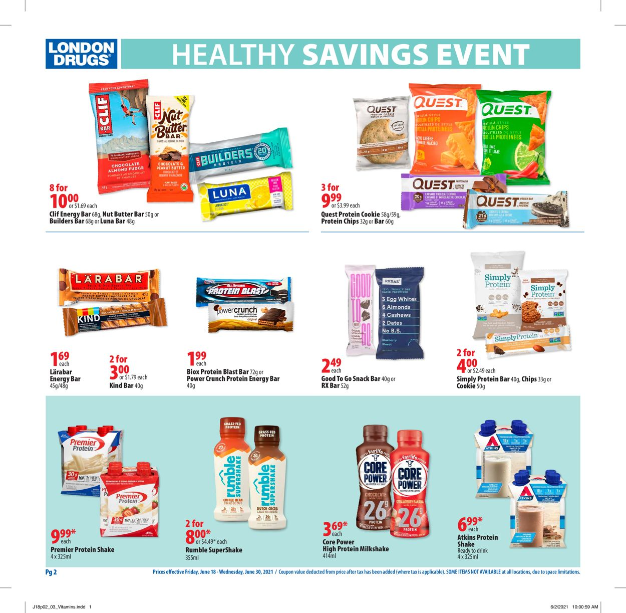 London Drugs Flyer - 06/18-06/30/2021 (Page 2)