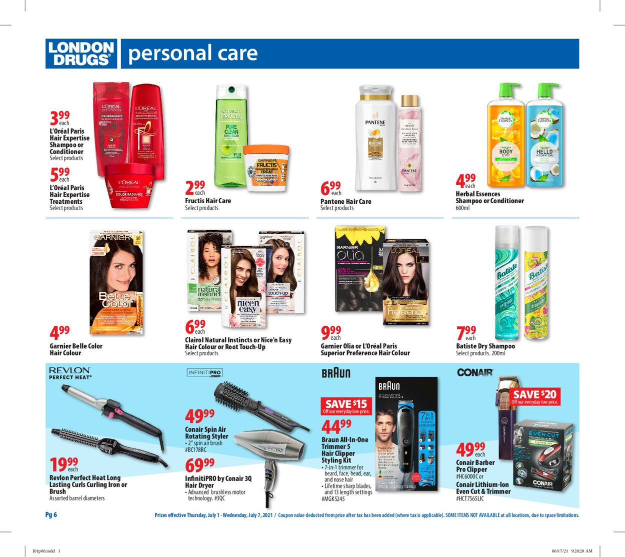 London Drugs Flyer - 07/01-07/07/2021 (Page 6)