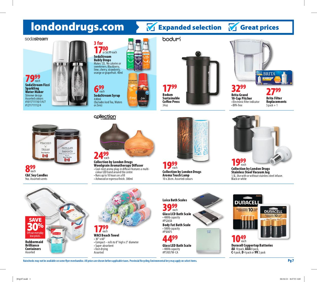 London Drugs Flyer - 07/01-07/07/2021 (Page 7)