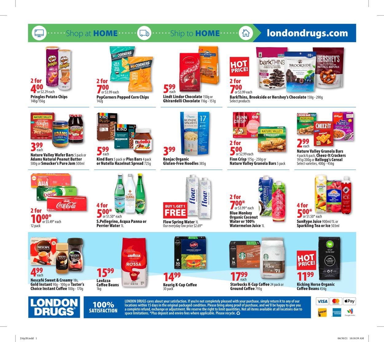 London Drugs Flyer - 07/16-07/21/2021 (Page 21)
