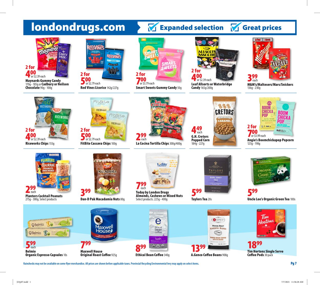 London Drugs Flyer - 07/23-07/28/2021 (Page 7)