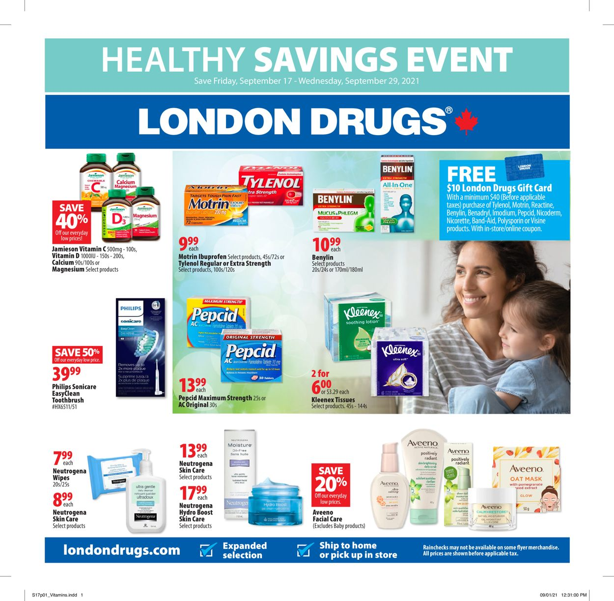 London Drugs Flyer - 09/17-09/29/2021