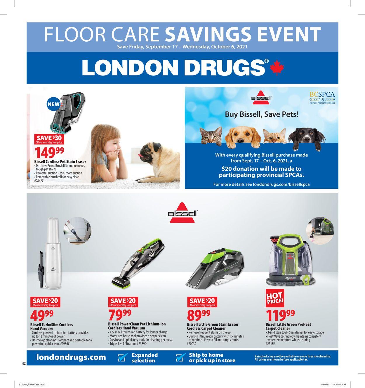 London Drugs Flyer - 09/17-10/06/2021