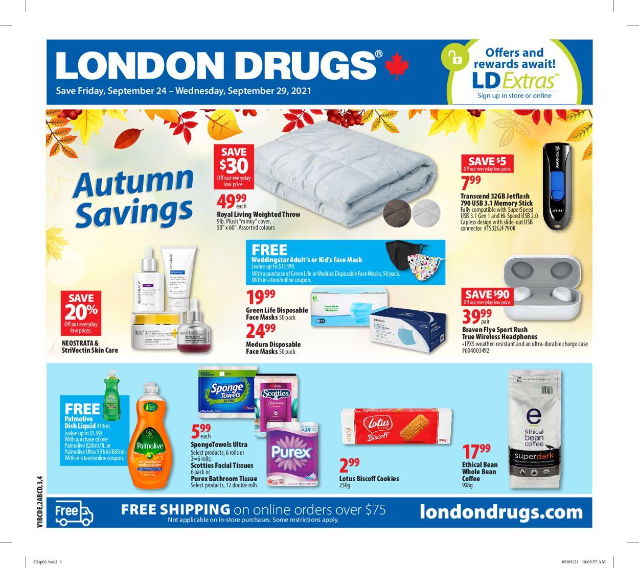 London Drugs Flyer - 09/24-09/29/2021