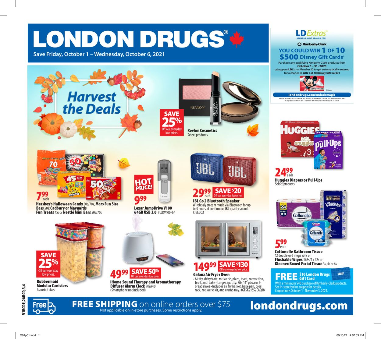 London Drugs Flyer - 10/01-10/06/2021