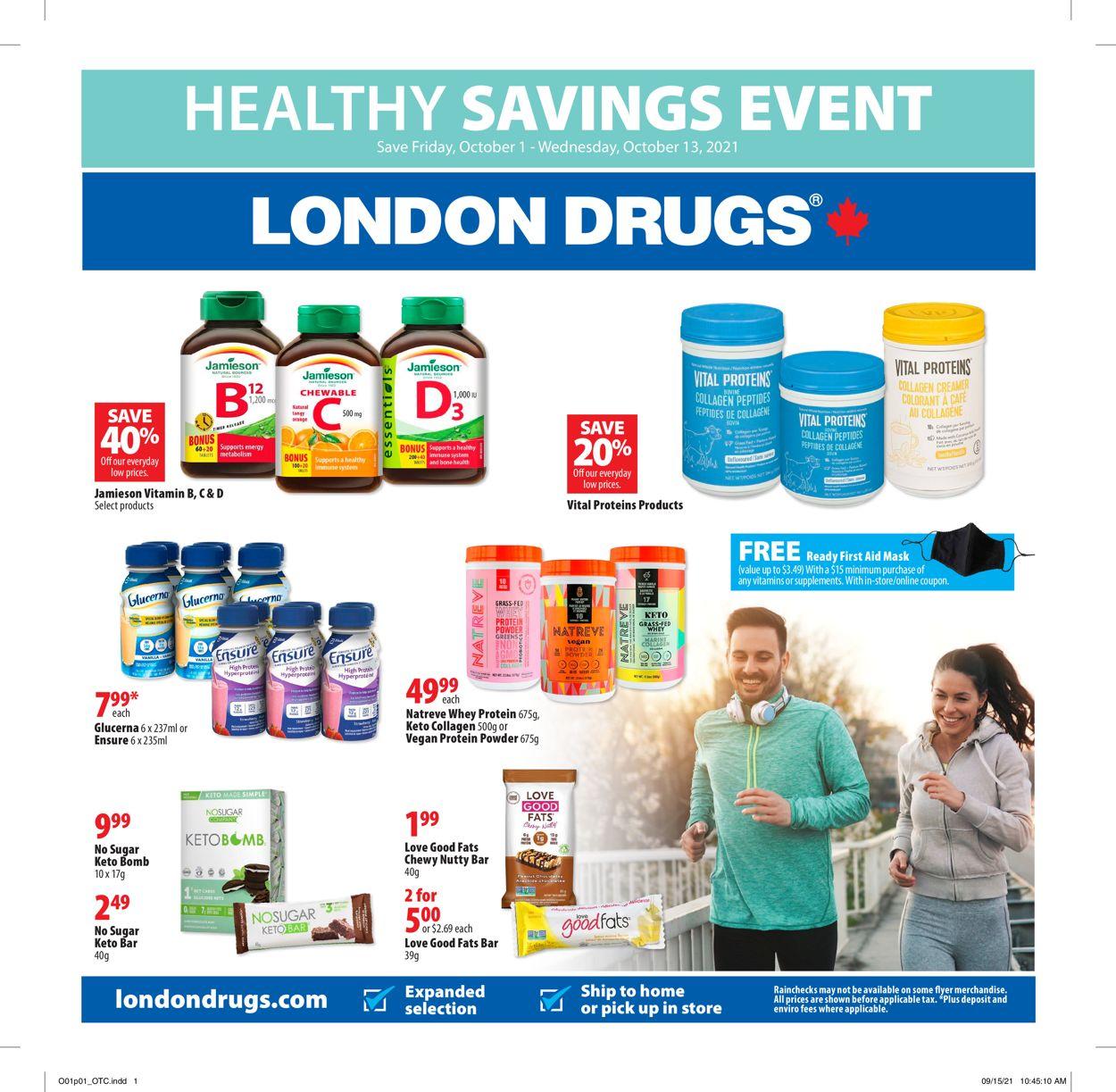 London Drugs Flyer - 10/01-10/13/2021