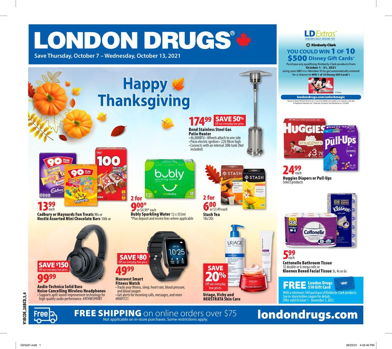 London Drugs Flyer - 10/07-10/13/2021