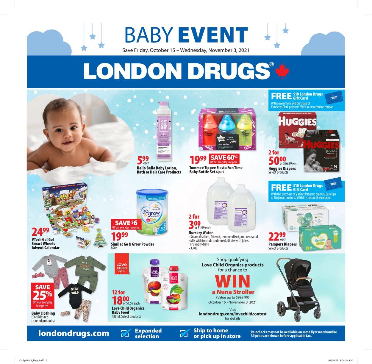 London Drugs Flyer - 10/15-11/03/2021
