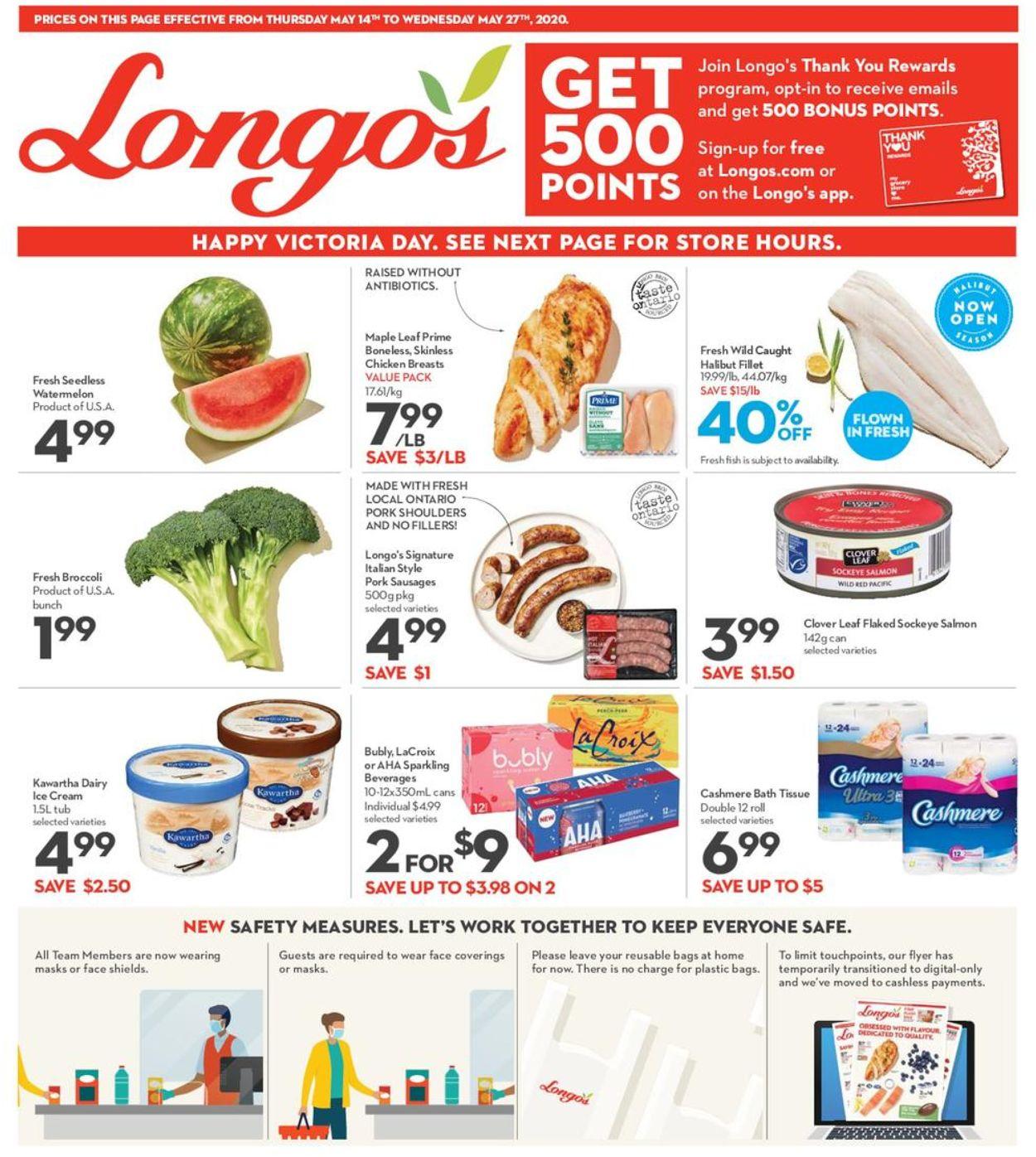 Longo's Flyer - 05/14-05/27/2020