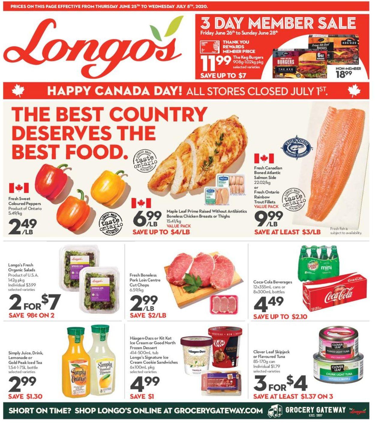 Longo's Flyer - 06/25-07/08/2020