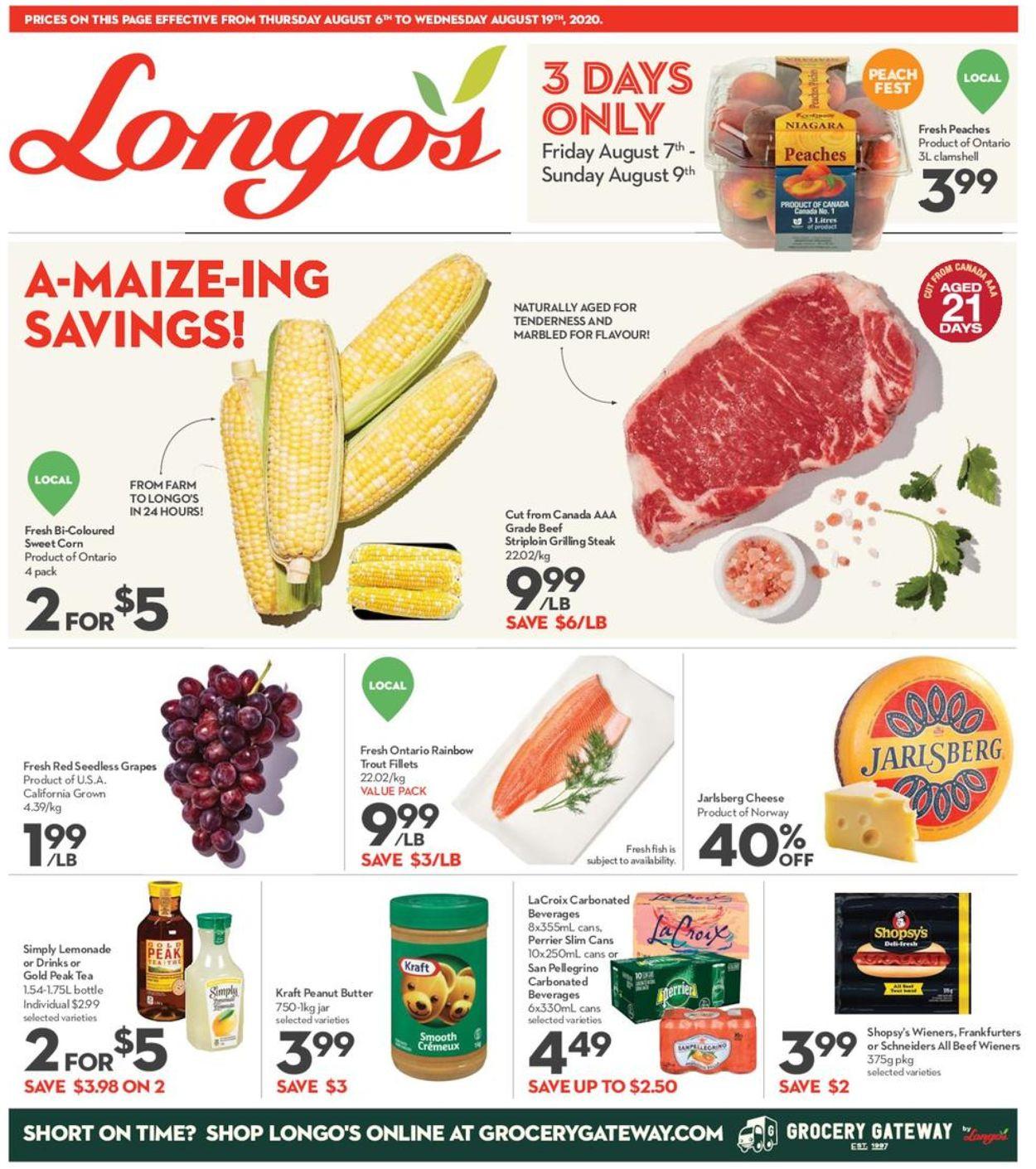 Longo's Flyer - 08/06-08/19/2020