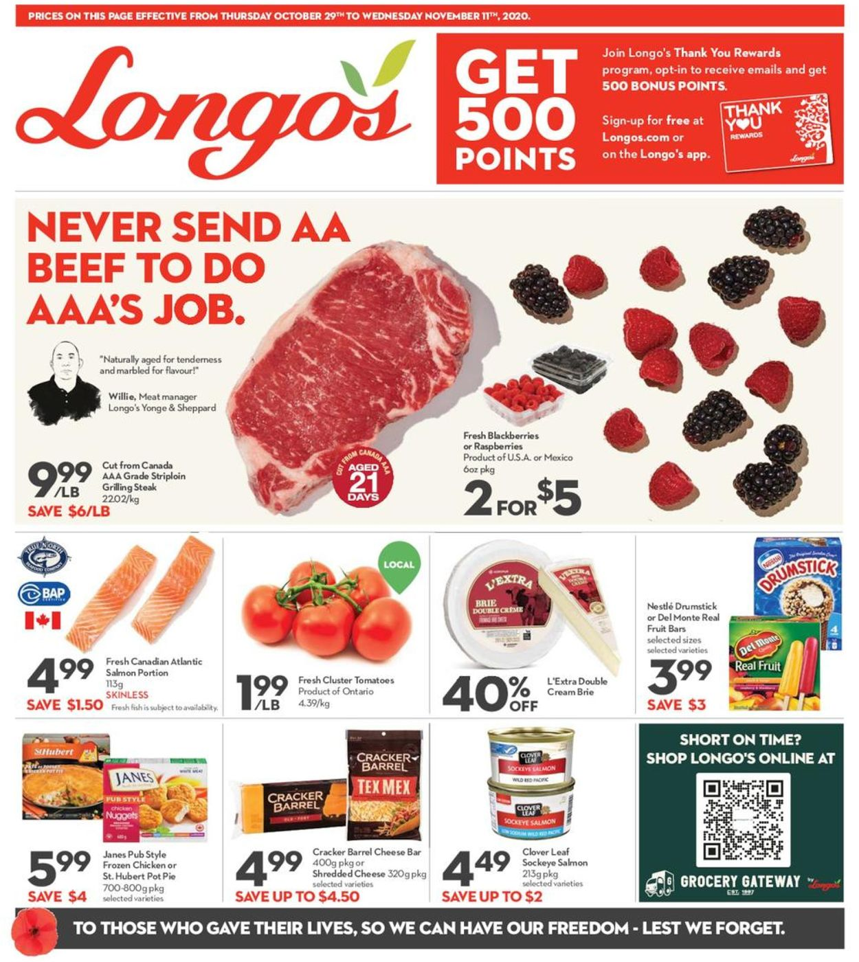 Longo's Flyer - 10/28-11/11/2020 (Page 3)
