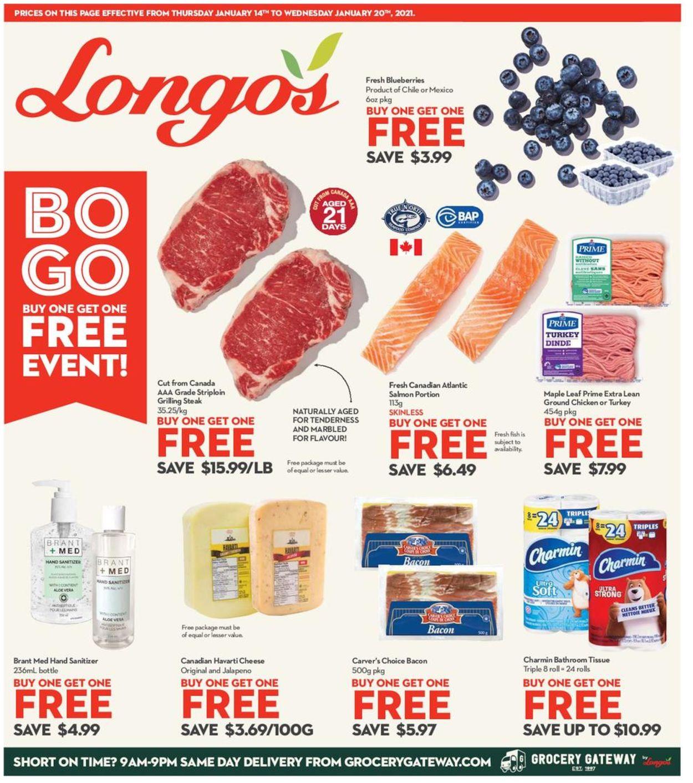 Longo's Flyer - 01/14-01/20/2021