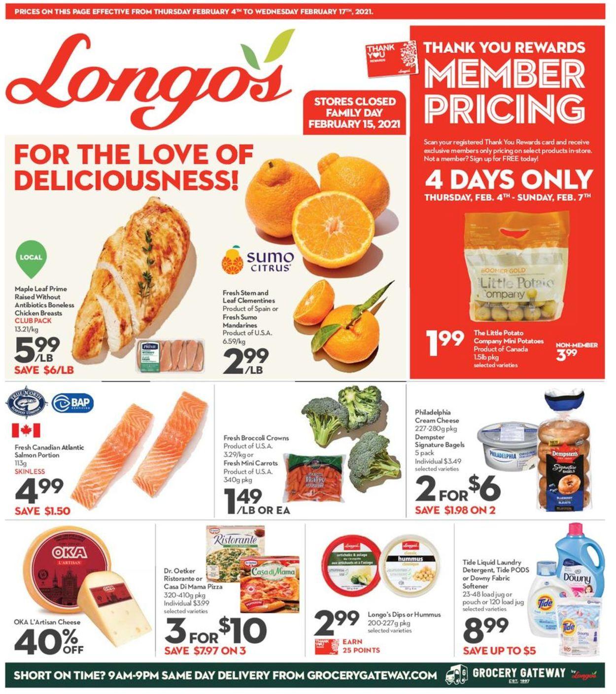 Longo's Flyer - 02/04-02/17/2021