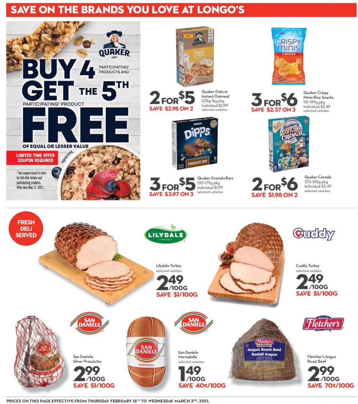 Longo's Flyer - 02/18-03/03/2021 (Page 16)