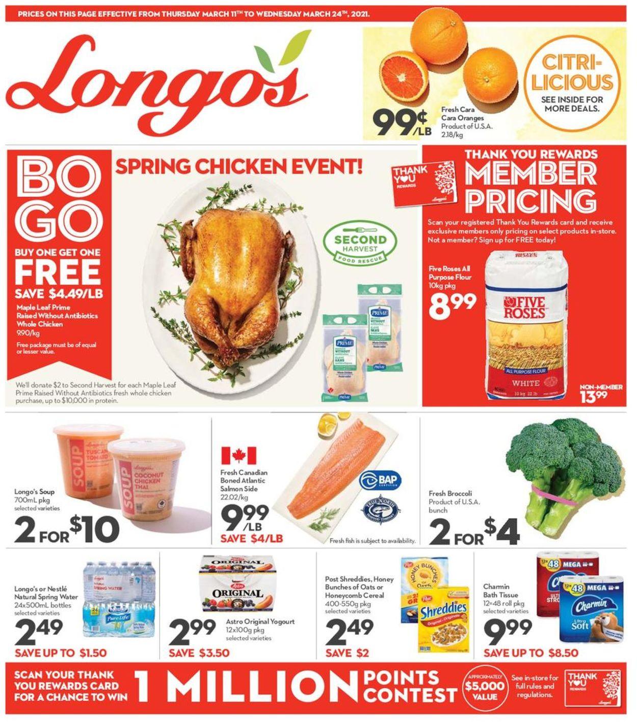 Longo's Flyer - 03/11-03/24/2021