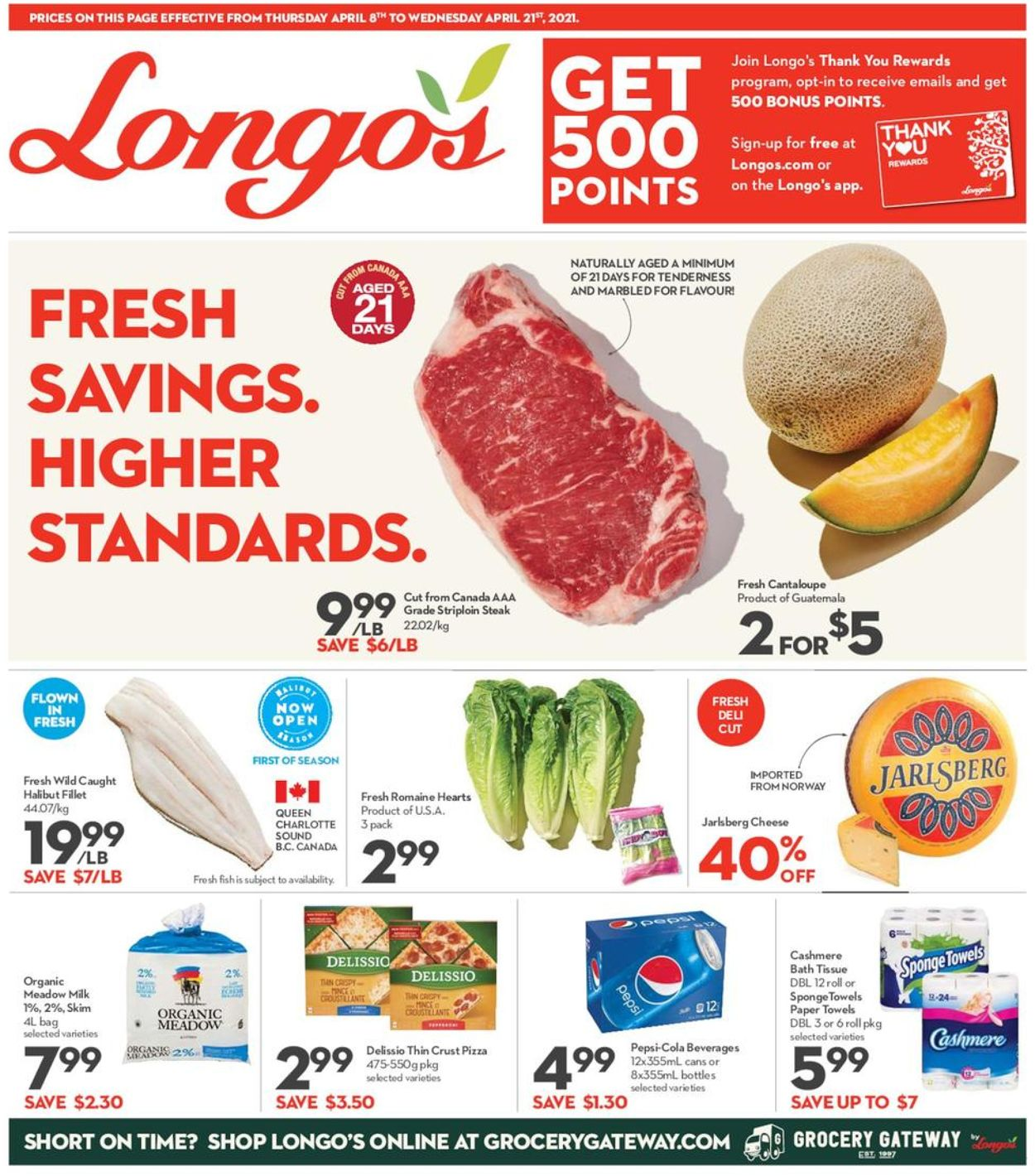 Longo's Flyer - 04/08-04/21/2021