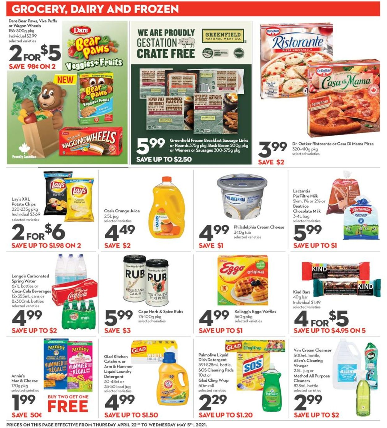 Longo's Flyer - 04/22-05/05/2021 (Page 13)