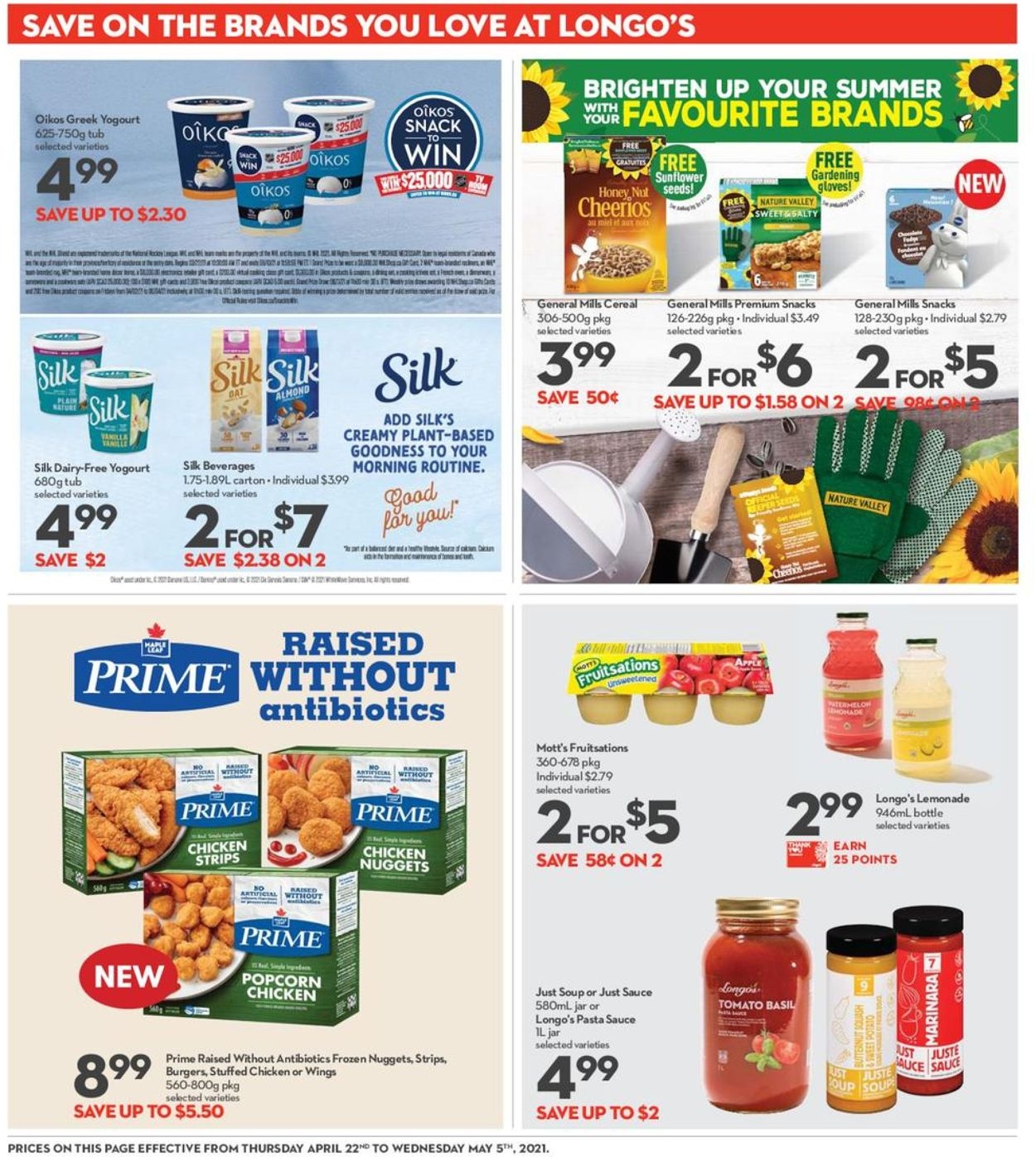Longo's Flyer - 04/22-05/05/2021 (Page 14)