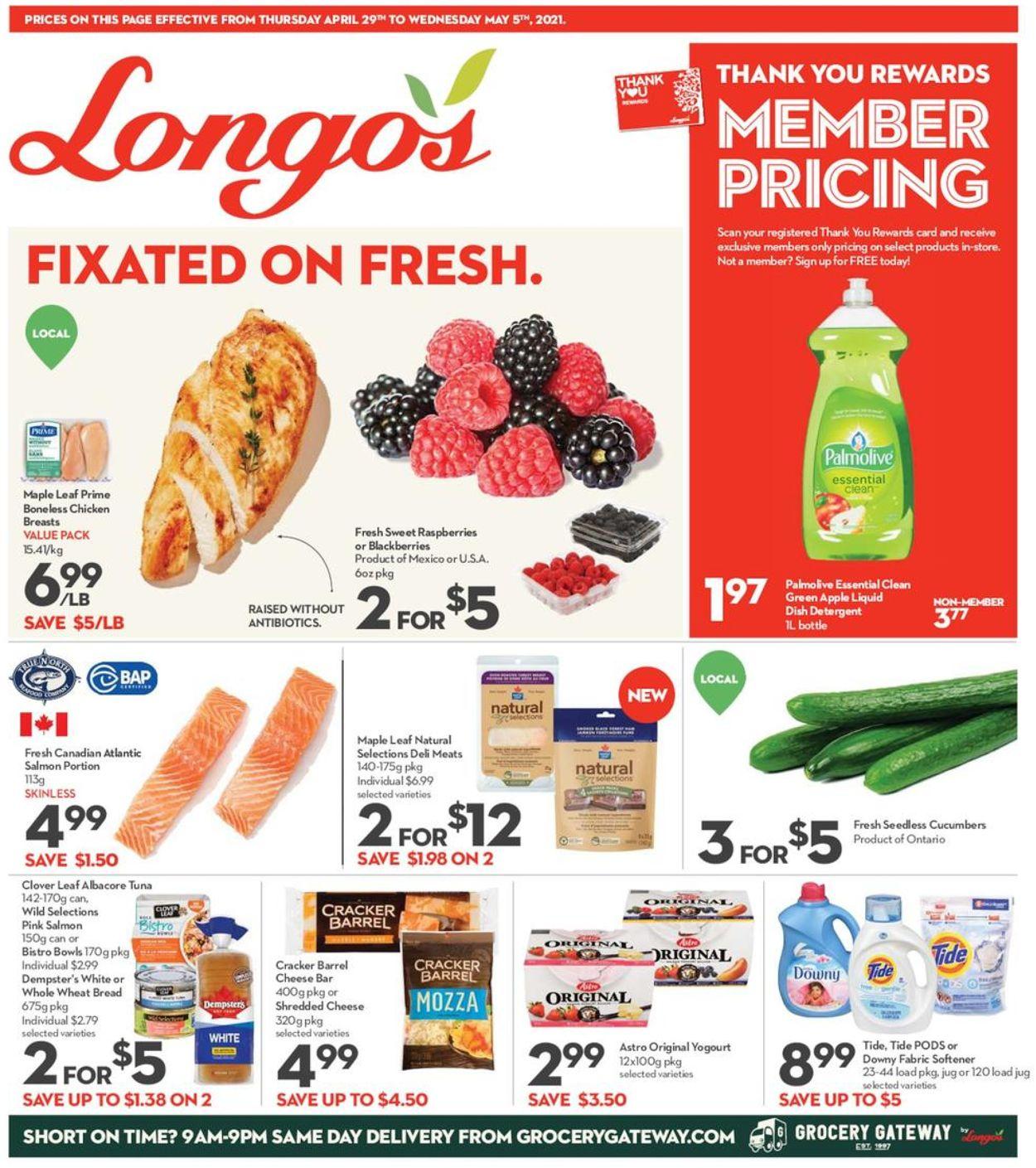 Longo's Flyer - 04/21-05/05/2021