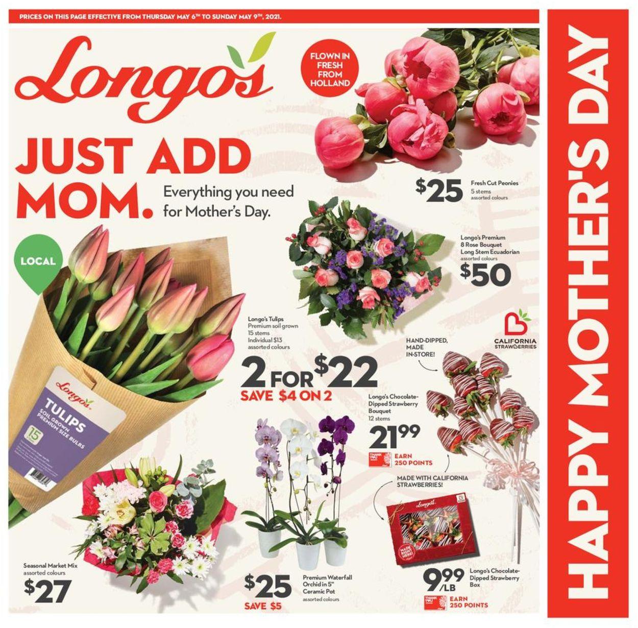 Longo's Flyer - 05/06-05/09/2021