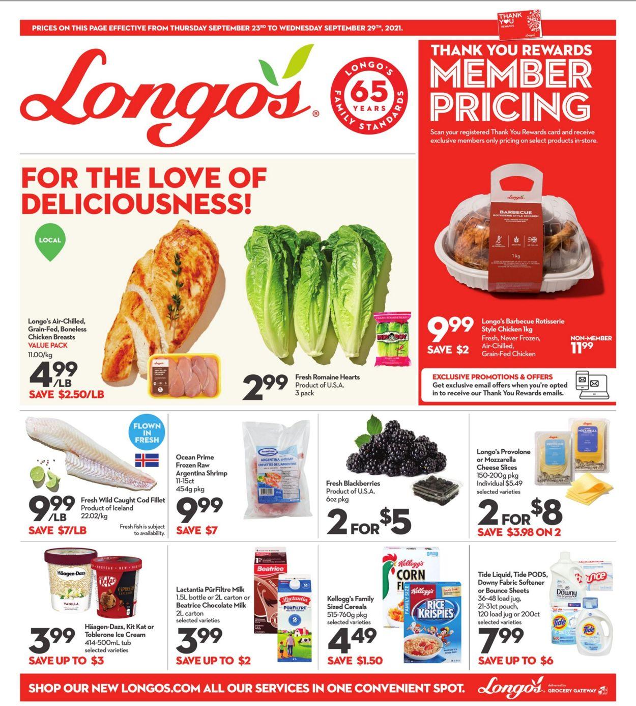 Longo's Flyer - 09/23-09/29/2021