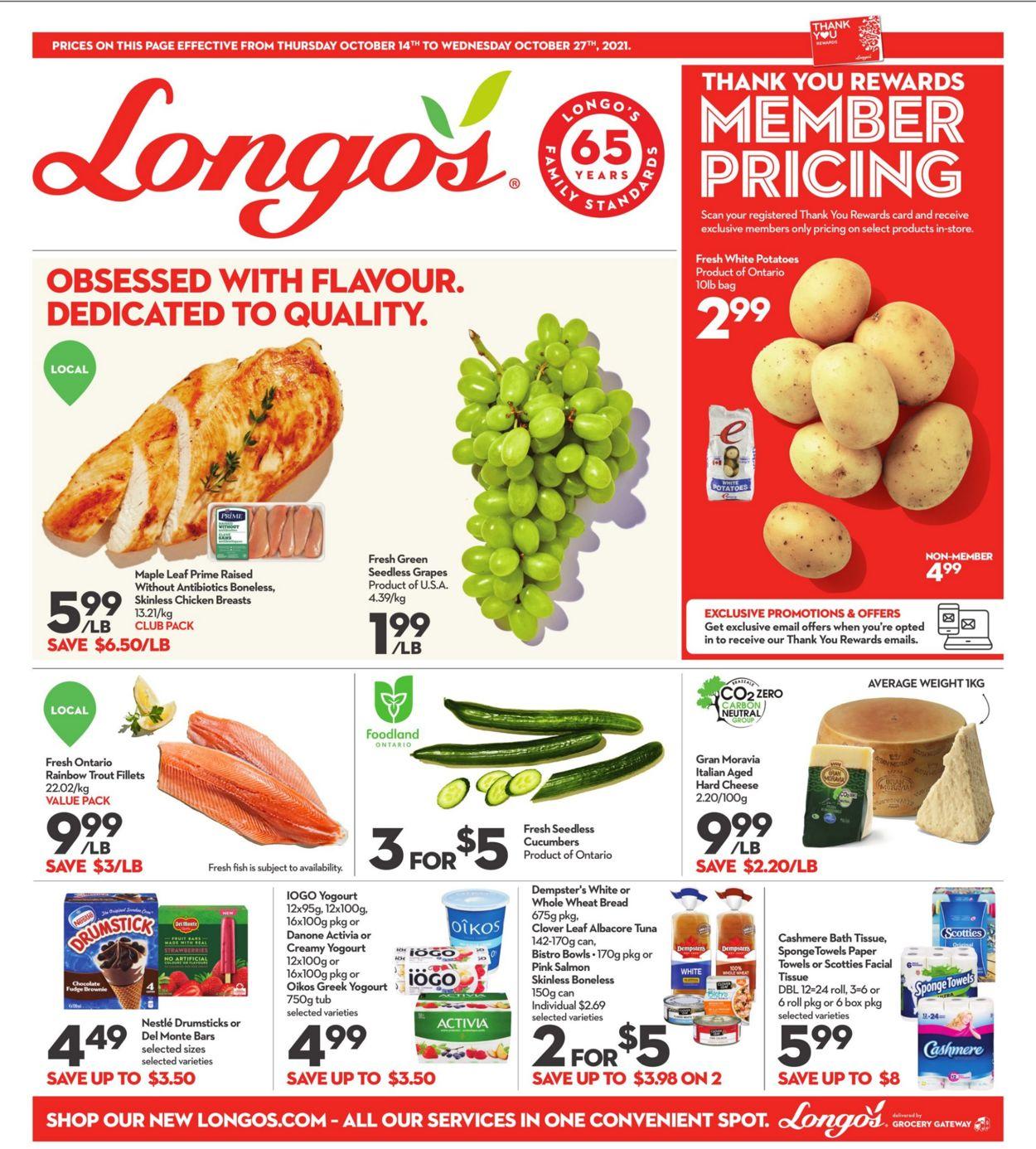Longo's Flyer - 10/14-10/27/2021