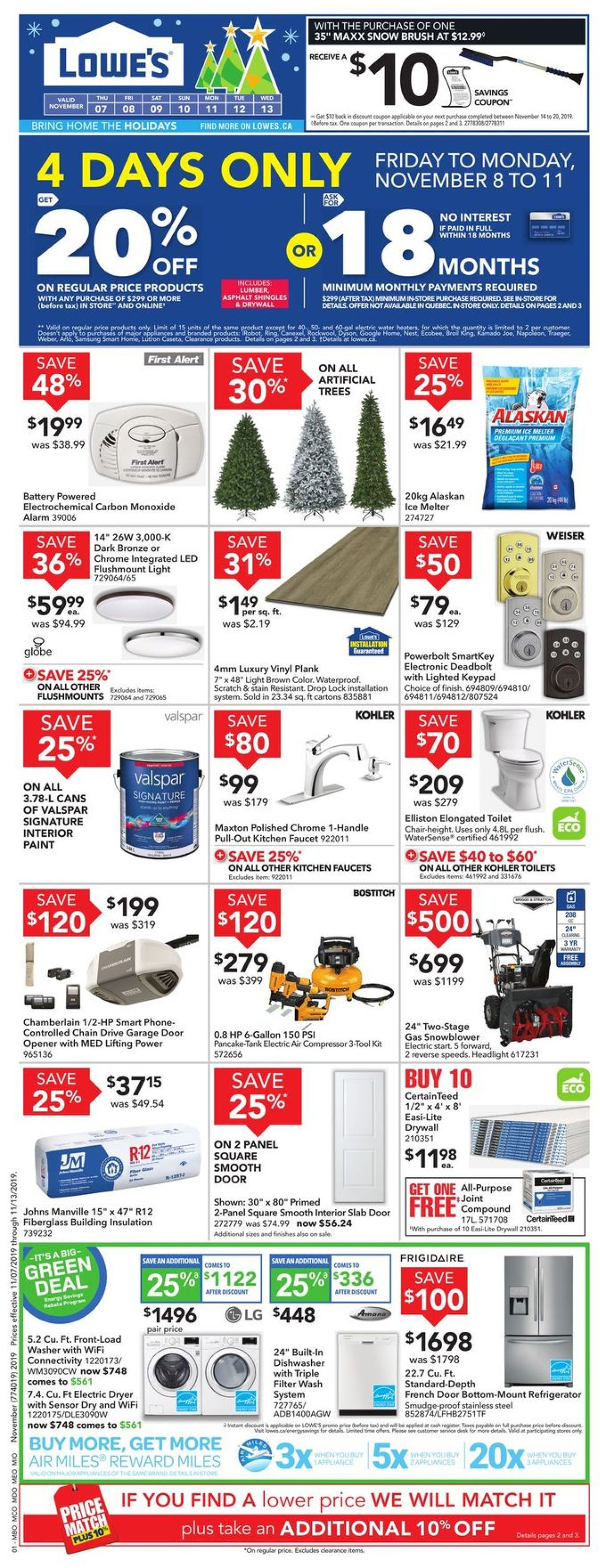 Lowes Flyer - 11/07-11/13/2019 (Page 3)