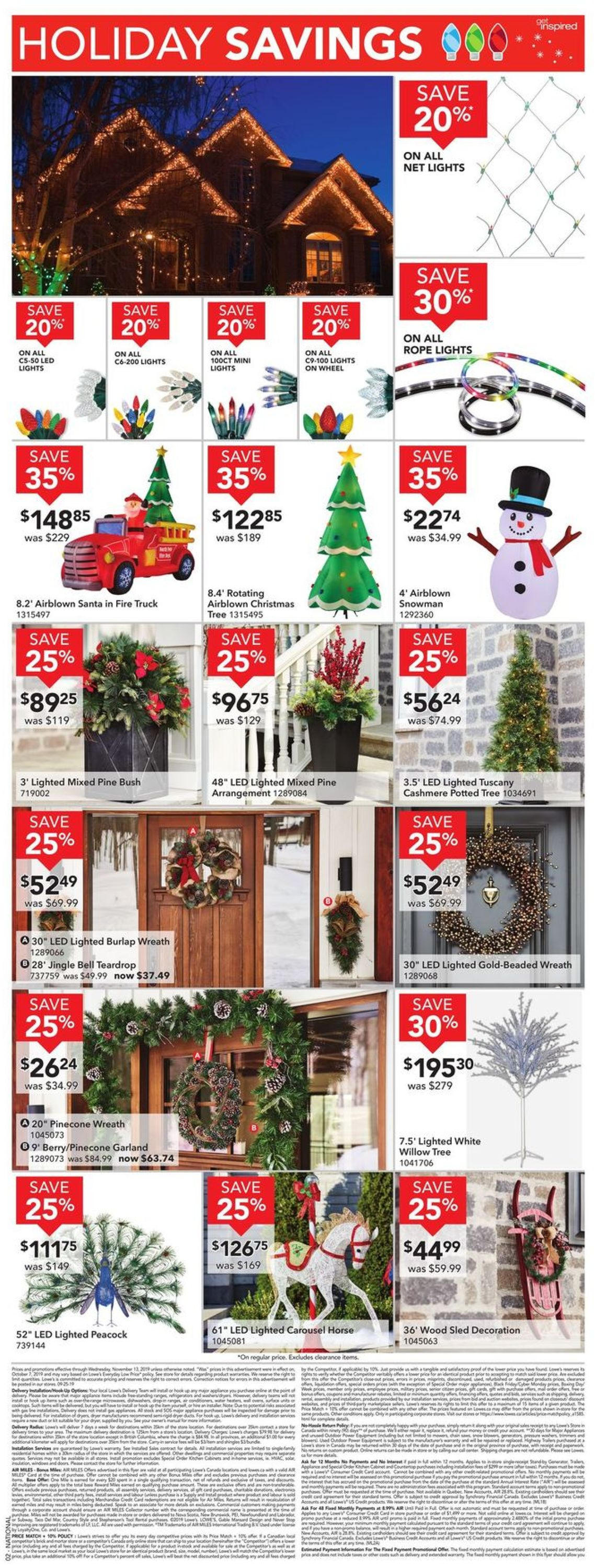 Lowes Flyer - 11/07-11/13/2019 (Page 4)