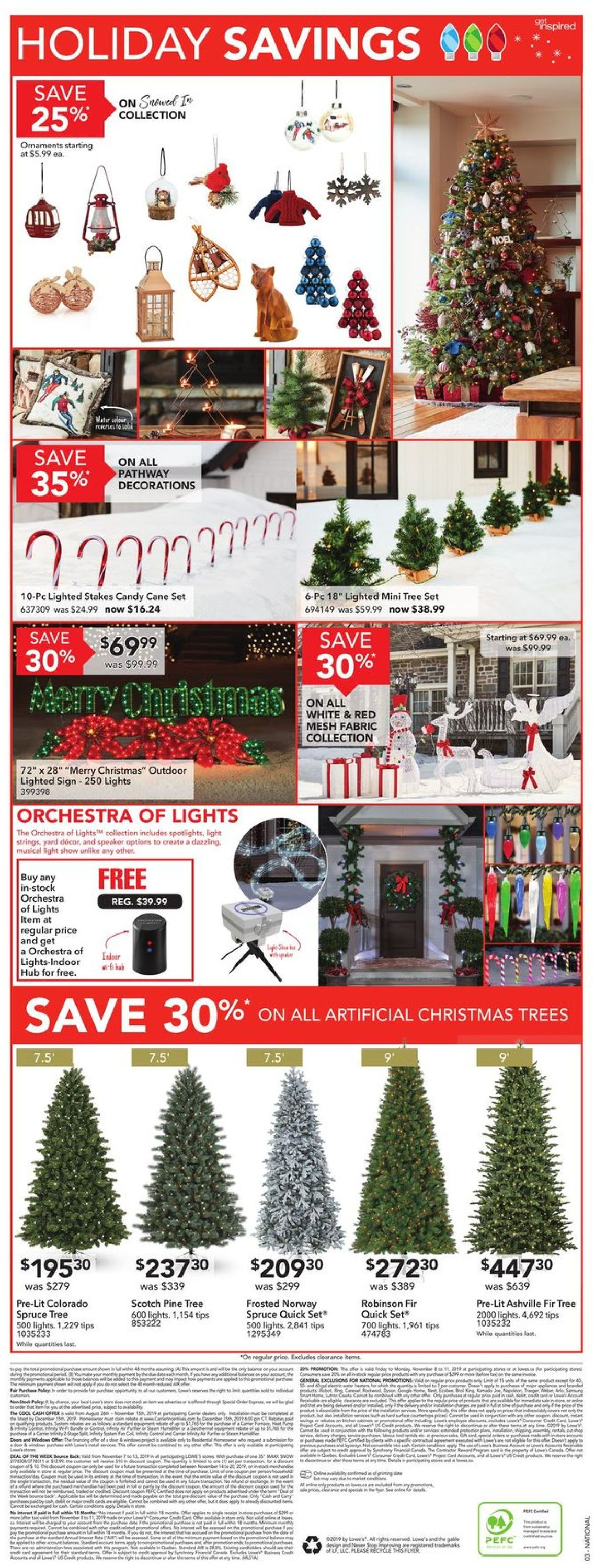 Lowes Flyer - 11/07-11/13/2019 (Page 5)
