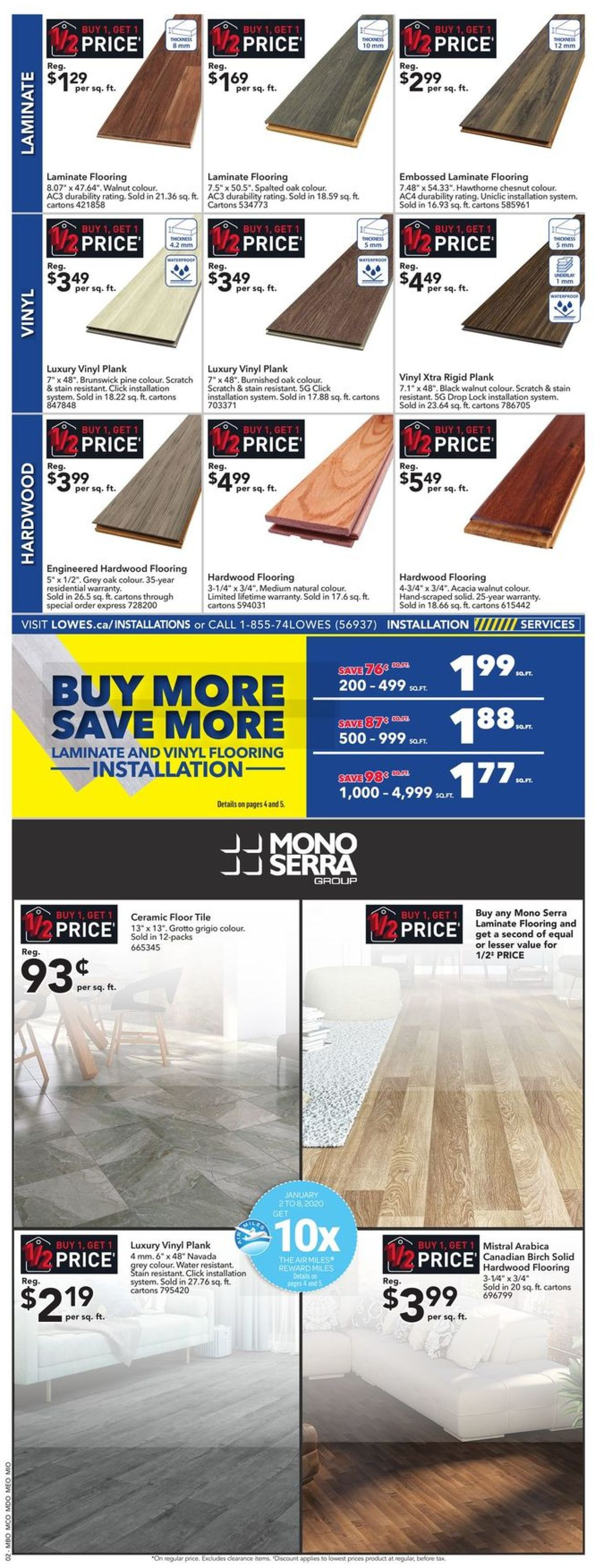 Lowes Flyer - 01/02-01/08/2020 (Page 2)