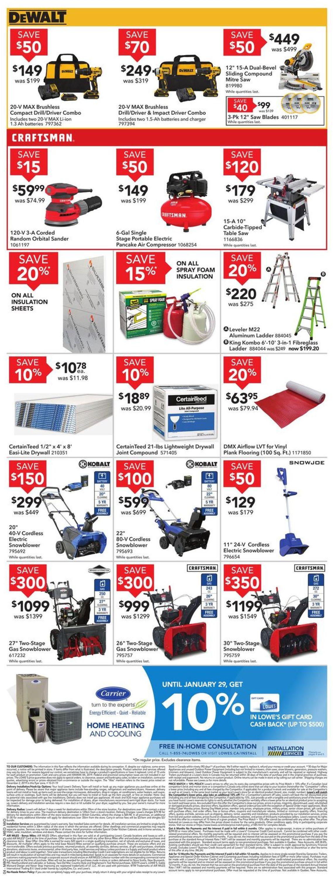 Lowes Flyer - 01/02-01/08/2020 (Page 4)