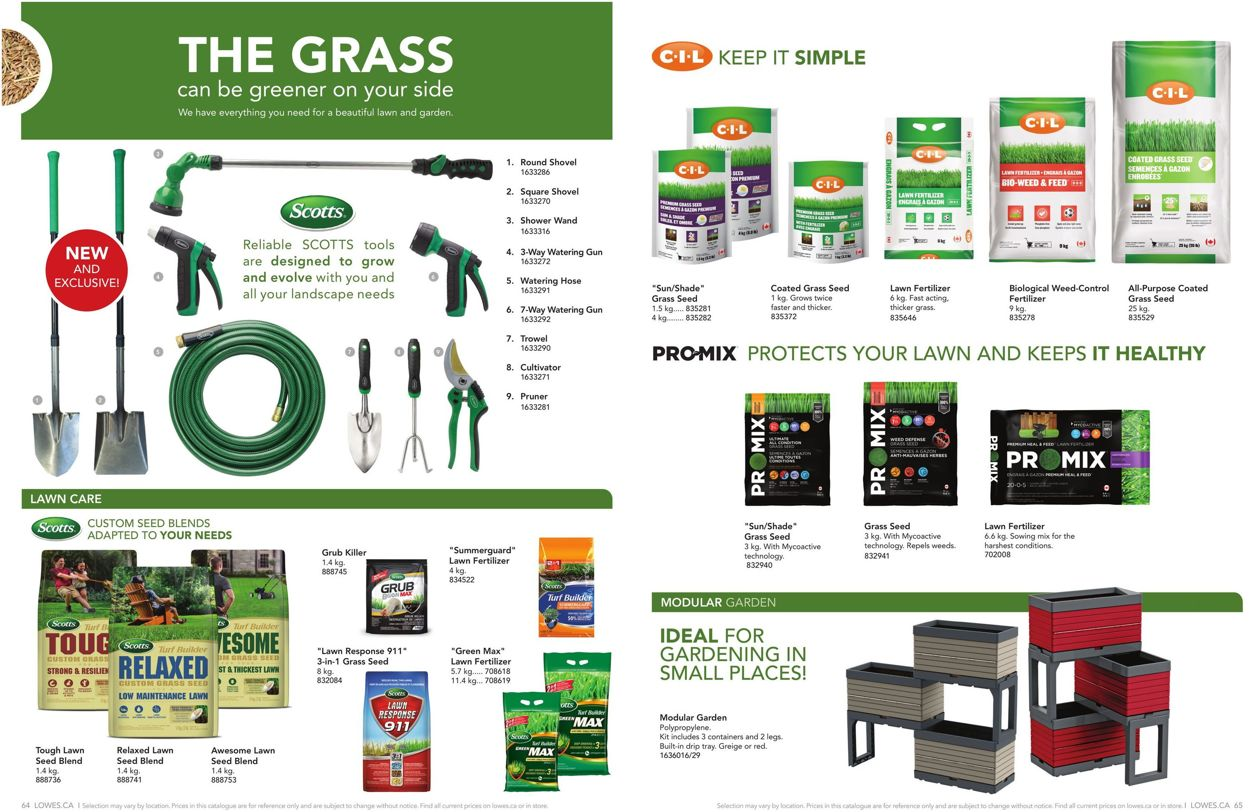 Lowes Flyer - 02/13-07/30/2020 (Page 33)