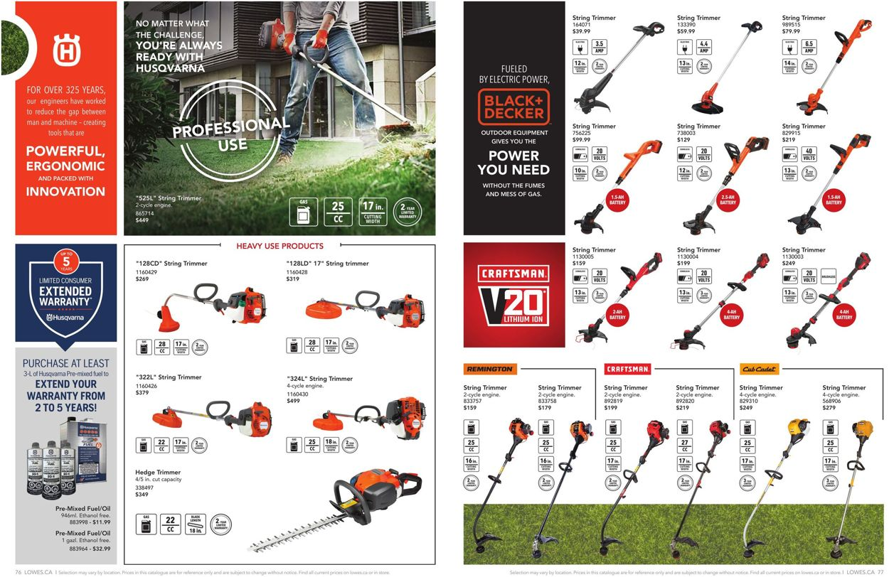 Lowes Flyer - 02/13-07/30/2020 (Page 39)
