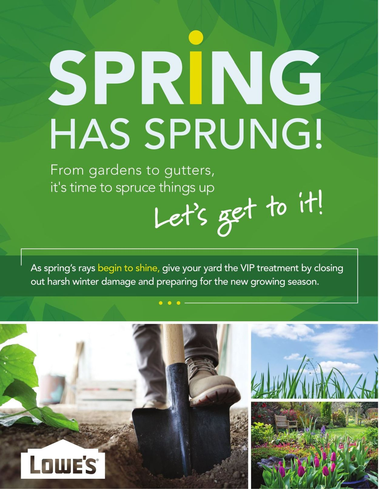Lowes Flyer - 03/05-04/29/2020