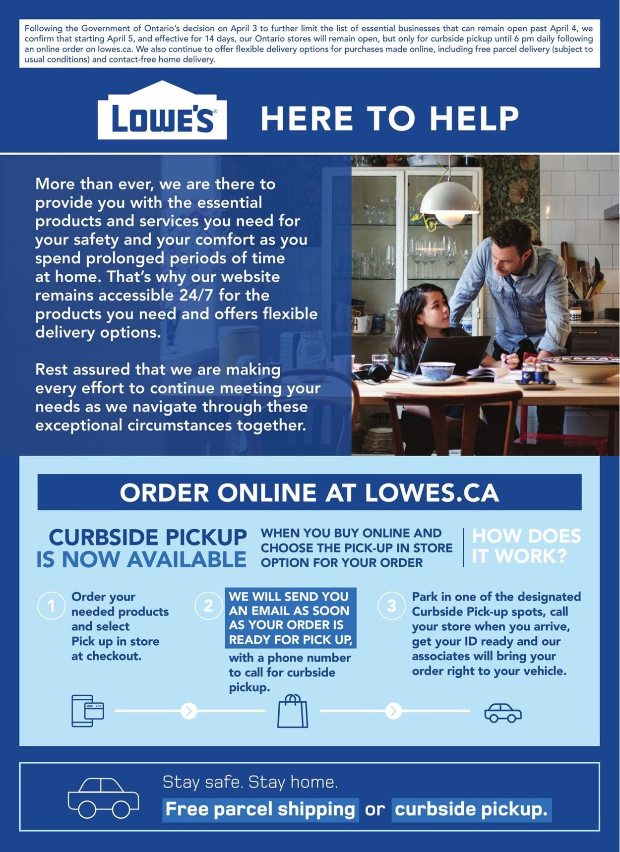 Lowes Flyer - 04/08-04/22/2020