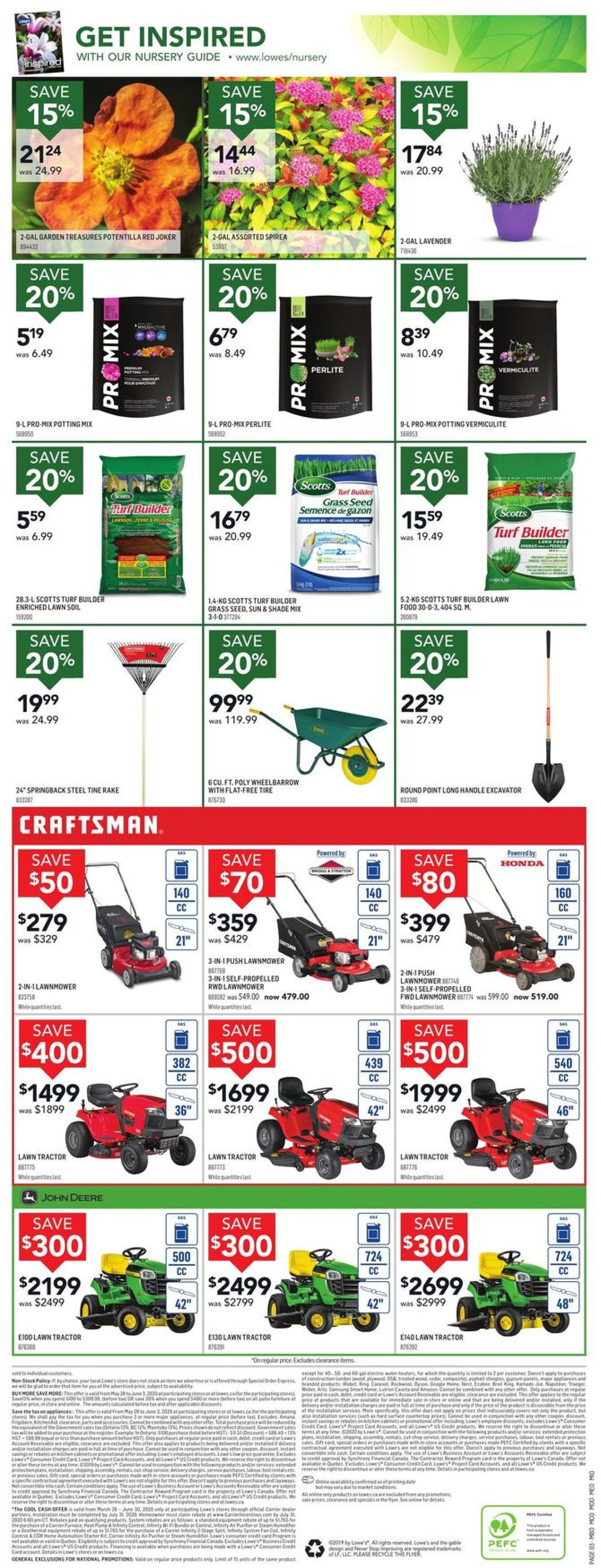 Lowes Flyer - 05/28-06/03/2020 (Page 3)