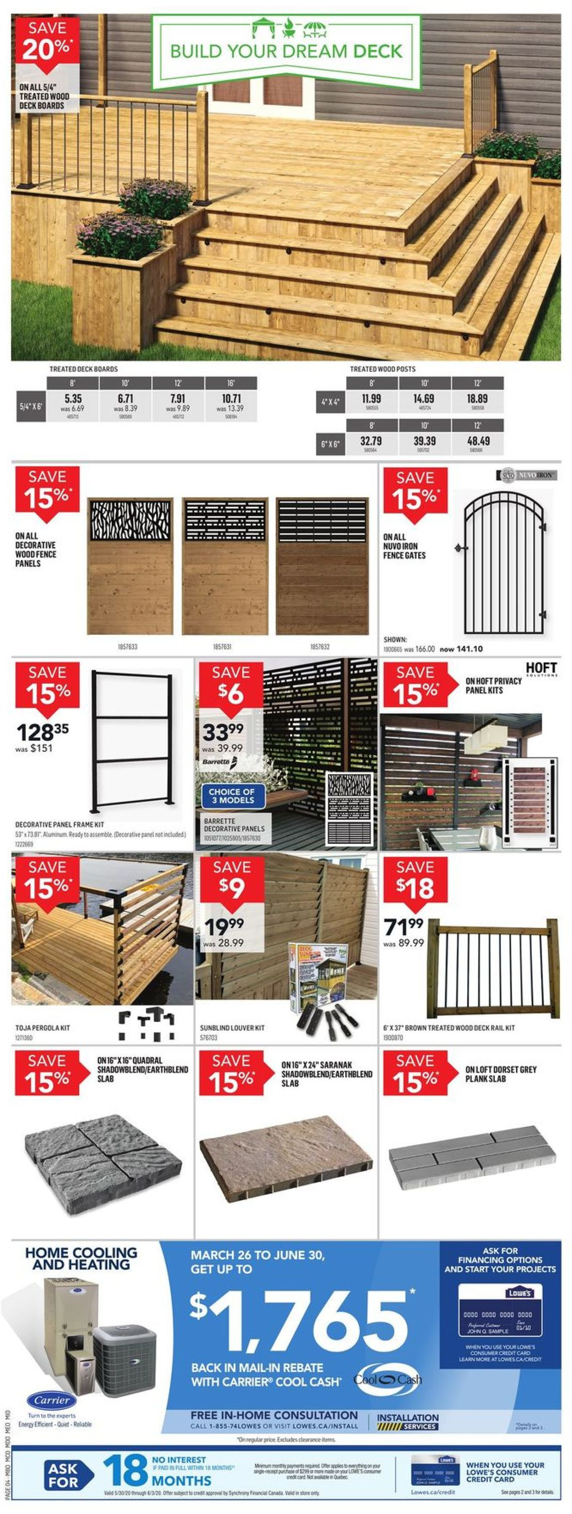 Lowes Flyer - 05/28-06/03/2020 (Page 4)
