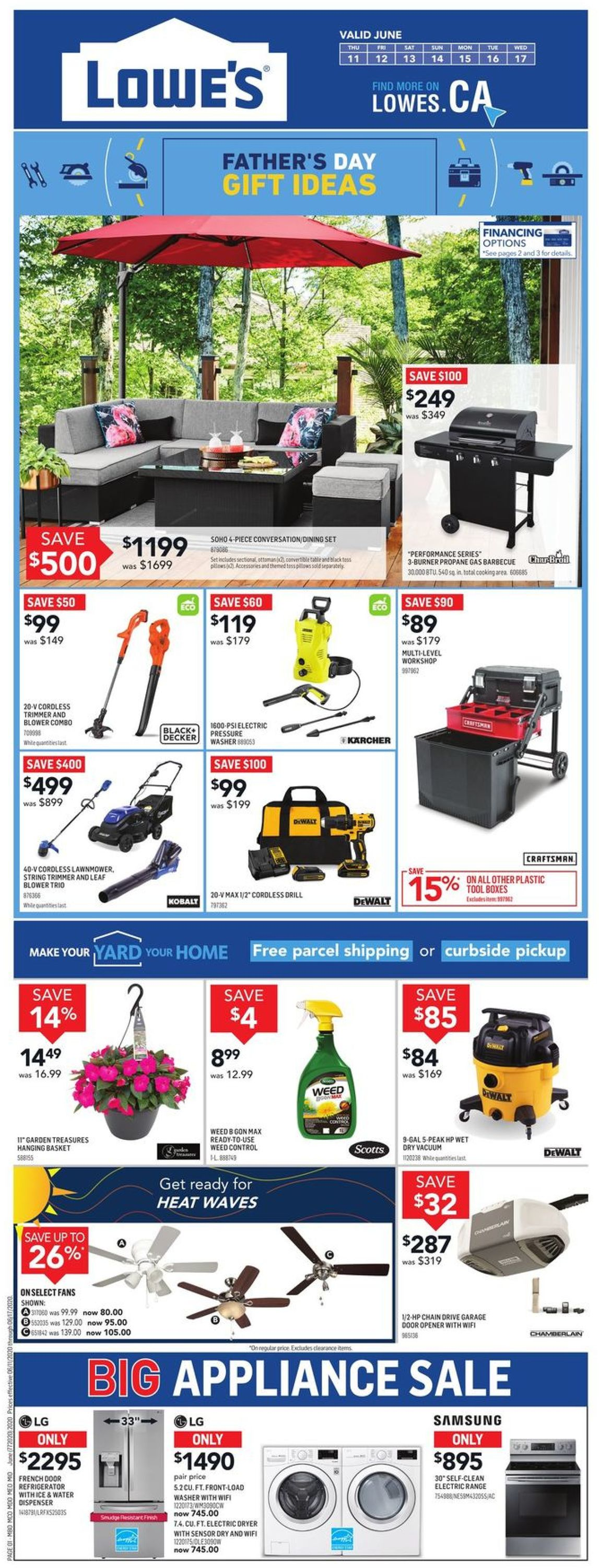Lowes Flyer - 06/11-06/17/2020