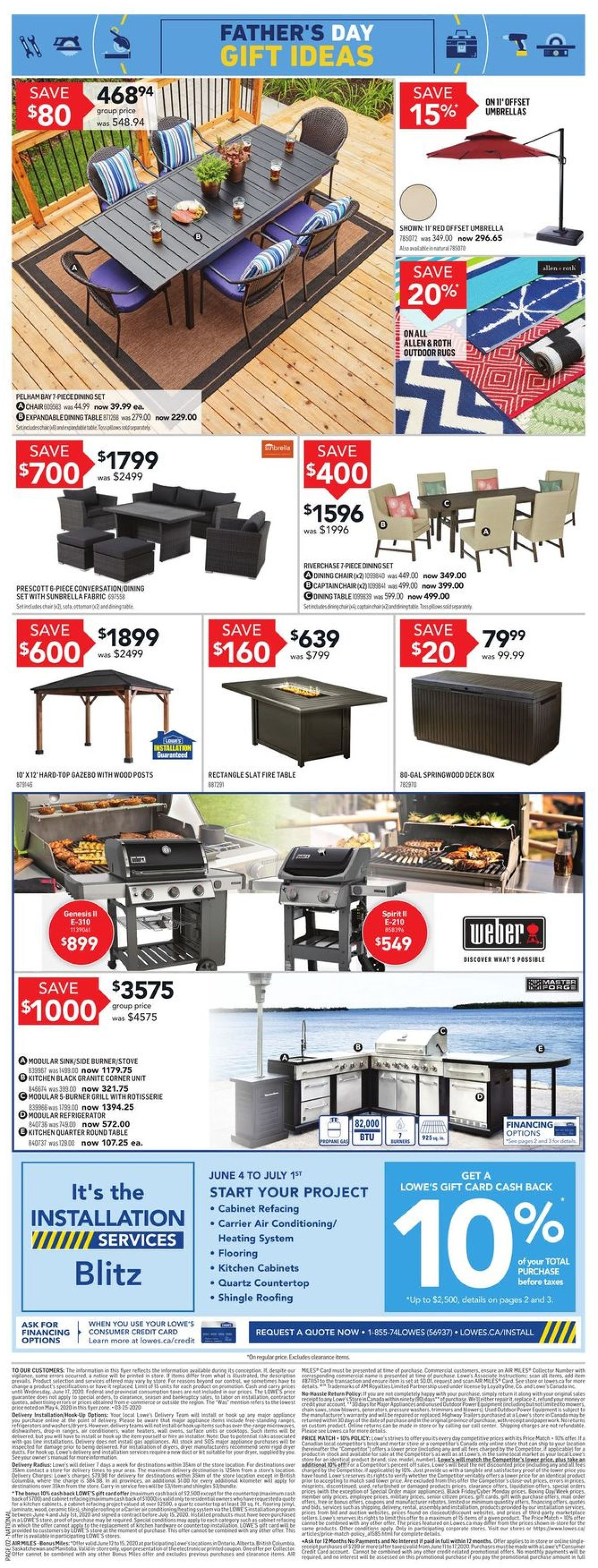 Lowes Flyer - 06/11-06/17/2020 (Page 3)