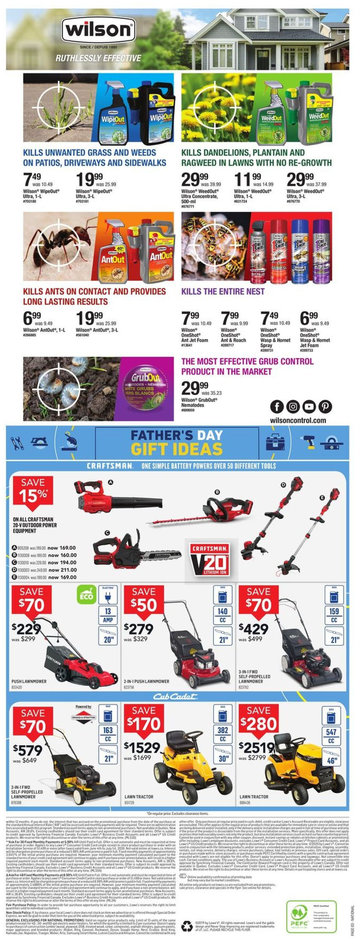 Lowes Flyer - 06/11-06/17/2020 (Page 4)