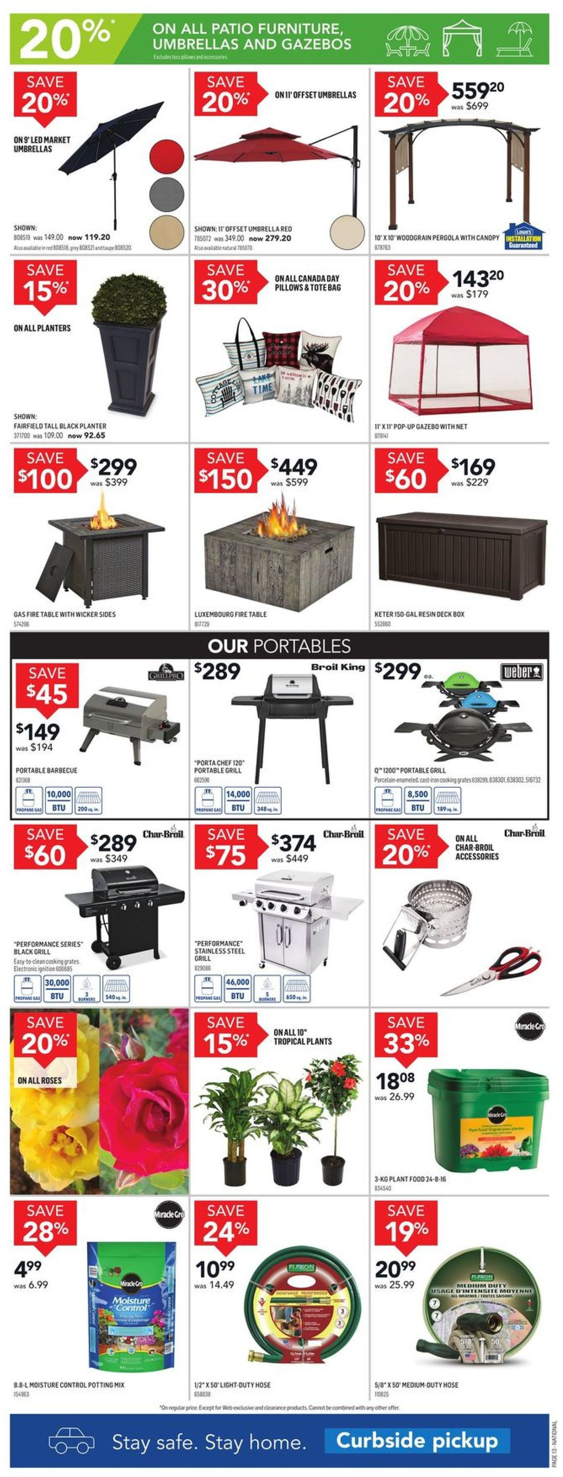 Lowes Flyer - 06/25-07/01/2020 (Page 14)