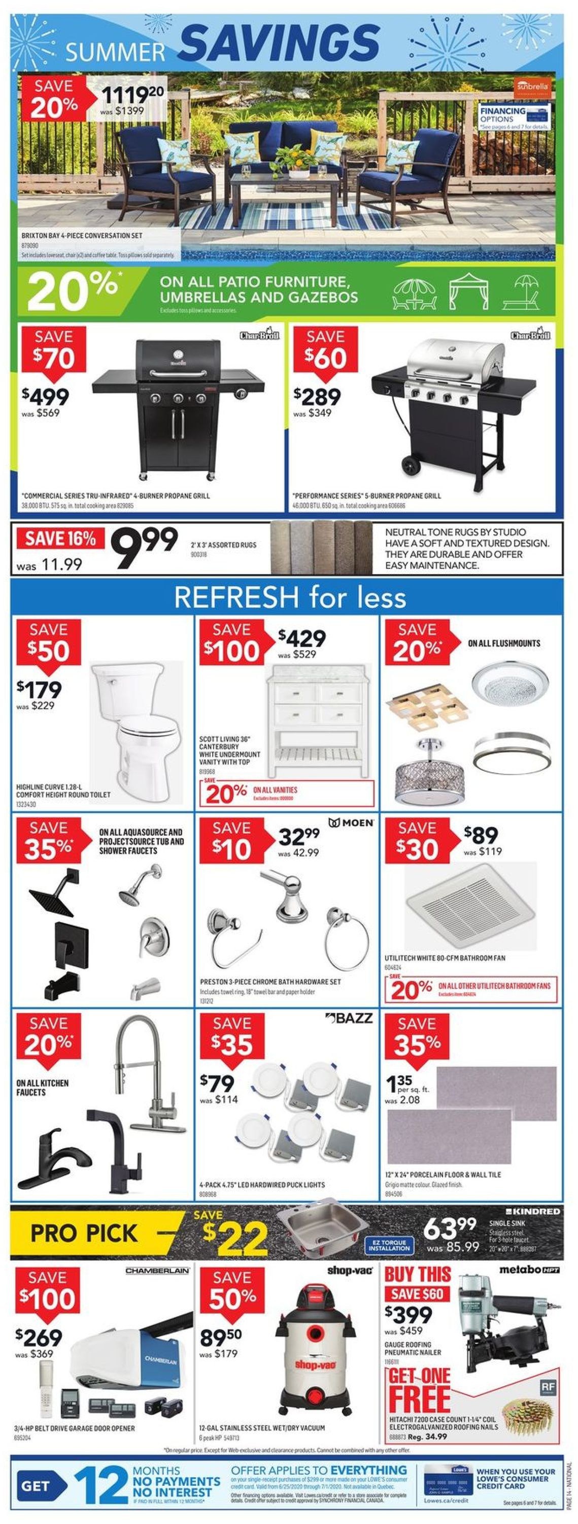 Lowes Flyer - 06/25-07/01/2020 (Page 15)