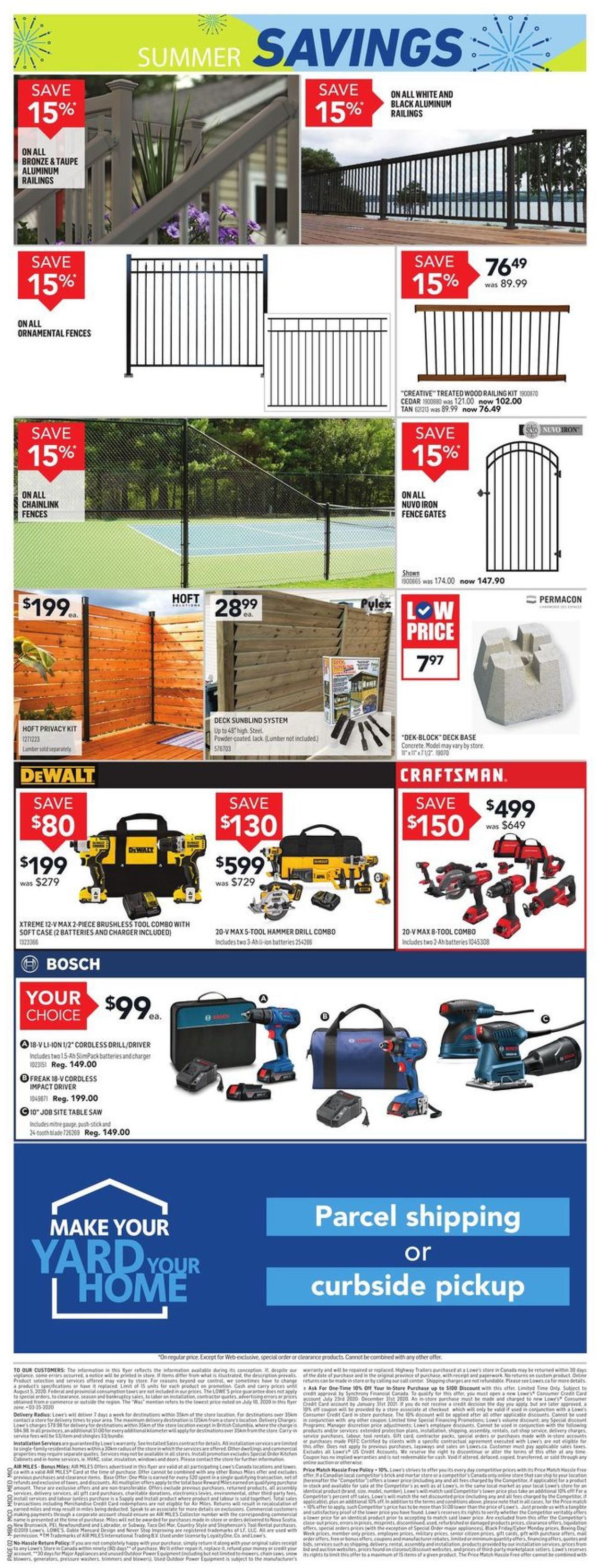 Lowes Flyer - 07/30-08/05/2020 (Page 3)